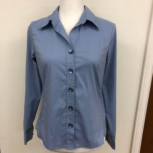 Old Navy easy fit stretch Blue Shirt